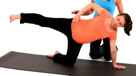 joint dysfunction exercise pregnancy