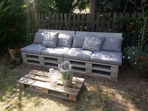 Gartenmöbel Auflagen Ikea : sitzplatz aus paletten polster und kissen von ikea ~ Michelbontemps.com Haus und Dekorationen