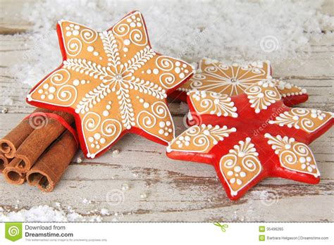 christmas gingerbread cookie royalty  stock photo
