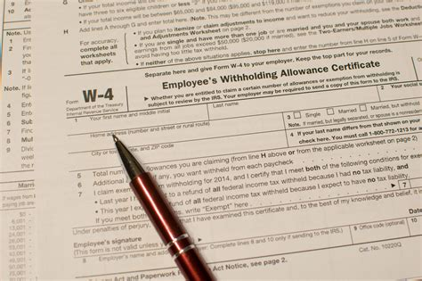 tips for calculating allowances and preparing form w 4