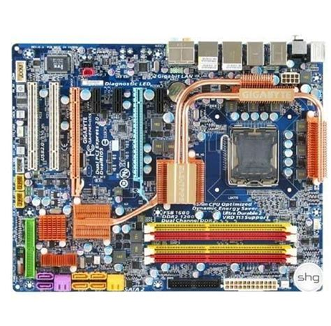 GIGABYTE GA-EP45-DS5 Intel P45 LGA775 Bundkort - Intel P45 ...