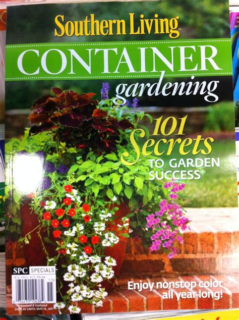 Adventures Of An Urban Gardener Container Gardening Magazines
