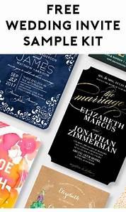 free wedding invitation sample kit from wedding paper With wedding invitations free sample kit