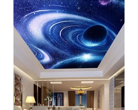 3d Galaxy Wallpaper For Ceiling by Customized 3d Photo Wallpaper 3d Wall Ceiling Wallpaper