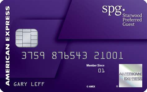 amex starwood card  design  purple revealed