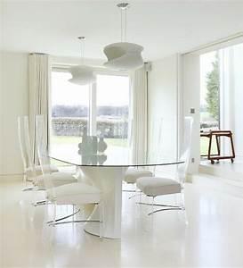 meubles salle a manger 87 idees sur l39amenagement reussi With meuble salle À manger avec chaise transparente salle a manger