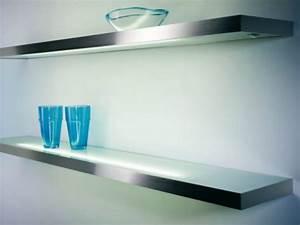 Küchen Wandpaneel Glas : beleuchtete glasregale led glas pendelleuchte modern ~ Frokenaadalensverden.com Haus und Dekorationen