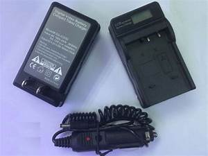 Battery Charger With Lcd Display For Jvc Digital Video