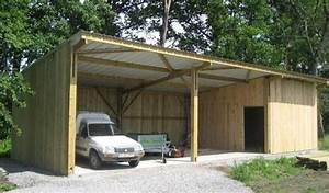 Construire Un Garage En Bois Soi Meme : construire son garage en bois soi meme id es d coration ~ Dallasstarsshop.com Idées de Décoration