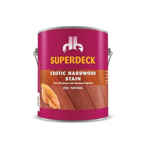 exotic hardwood stain  duckback