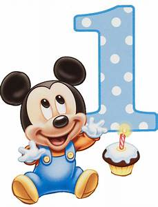 Mickey Mouse Baby Birthday Invitations
