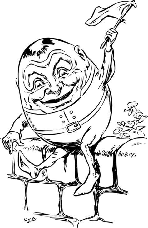 humpty dumpty clip art  vector  open office drawing