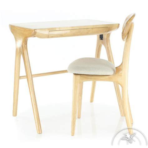 modele bureau bureau scandinave petit modèle bois naturel lund saulaie