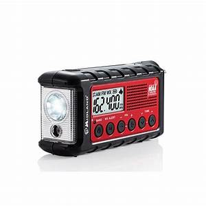 Midland Er300 Emergency Hand Crank Radio W   Flashlight