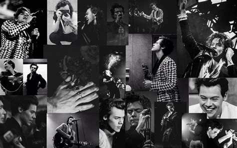 black and white harry styles wallpaper background harry