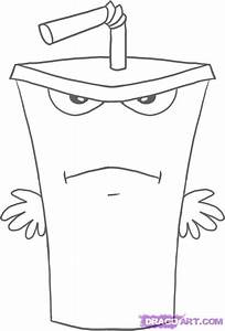 How to Draw Master Shake, Step by Step, Cartoon Network ...