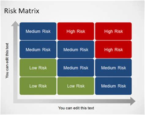 matrix template  powerpoint