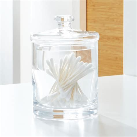 small glass canister reviews crate  barrel