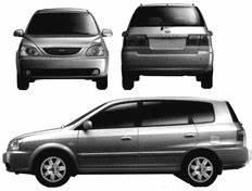 Kia Carens 2005 Mechanical Service Repair Manual Dwonload