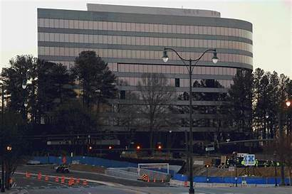 Building State Farm Dunwoody Rise Imploded Down