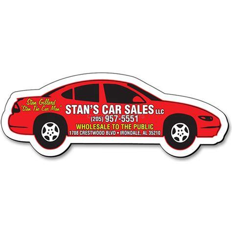 """Custom Car Shaped Magnets  425"""" X 15"""" Custommagnets"""
