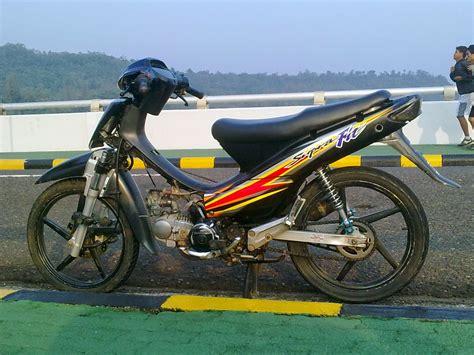 Supra X 100 Modifikasi Standar Thecitycyclist