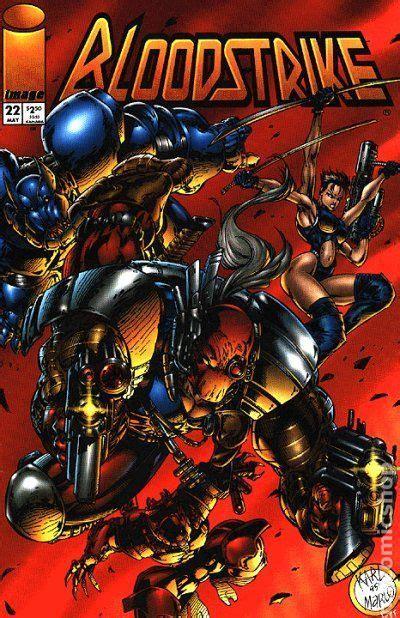 Bloodstrike (1993) comic books
