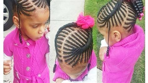 Cute Hairstyles For Little Black Girls 2016