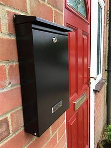 Sdg1 Wall Mounted Post Box Powder Coated