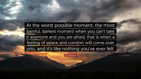 """at The Worst Possible Moment, The"