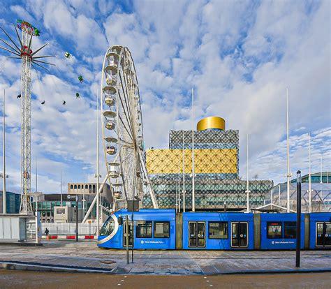 Birmingham city centre tram extension opens to passengers ...