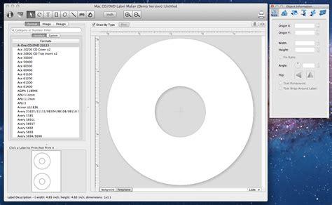 mac cddvd label maker mac