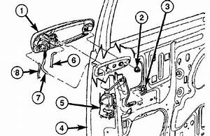 2002 Dodge Ram 1500 Parts Diagram For Jammed Door
