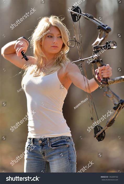 Naked Girls Shooting Bow And Arrow Hot Girl Hd Wallpaper