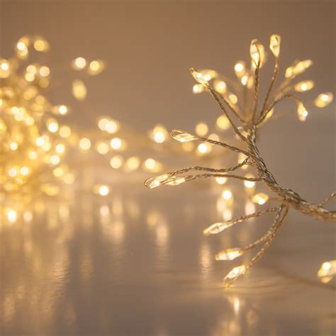 novelty lights warm white led fairy garland lights