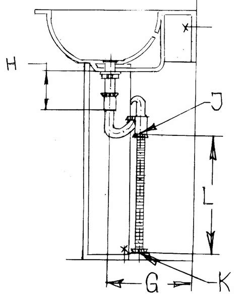 p trap size for kitchen sink determine your size for pedestal sink 9032