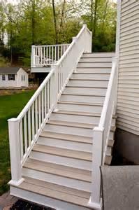 composite deck stairs glastonbury ct bailey carpentry
