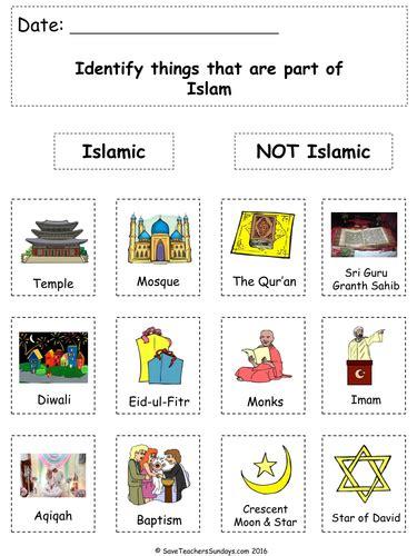 ks islam lesson plan powerpoint  worksheets