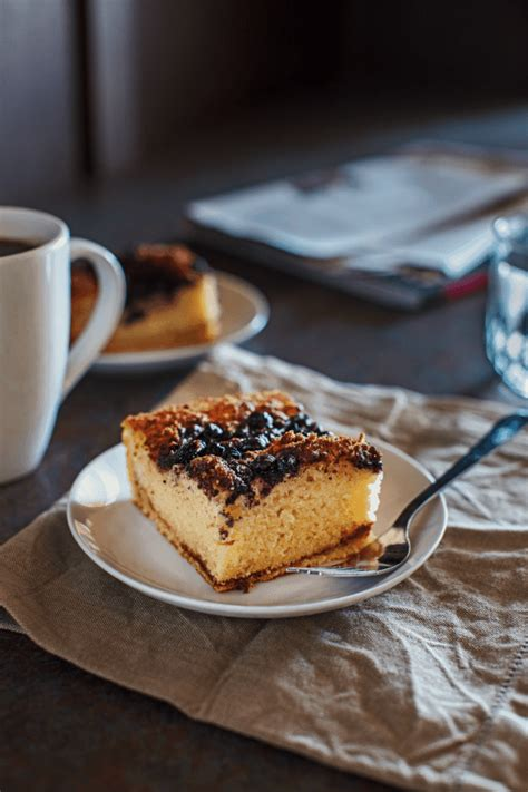 Freeze for up to 3 days. Gluten-Free Blueberry Streusel Coffee Cake Recipe