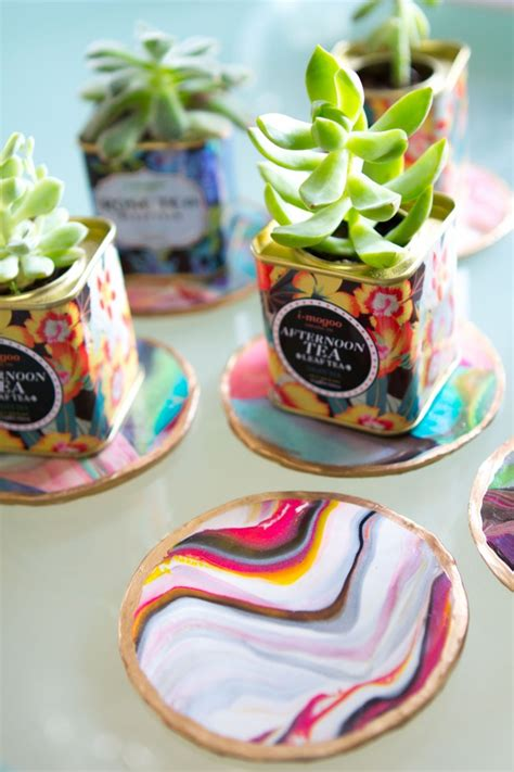 mothers day crafts ideas how to marble coasters sisoo 5000