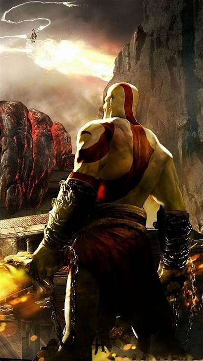 God War Kratos Mobile Wallpapers Phone Android
