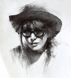 Charcoal sketch by alifann on DeviantArt
