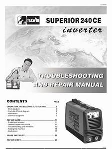 Telwin Superior 240 Ap Sudura Inverter