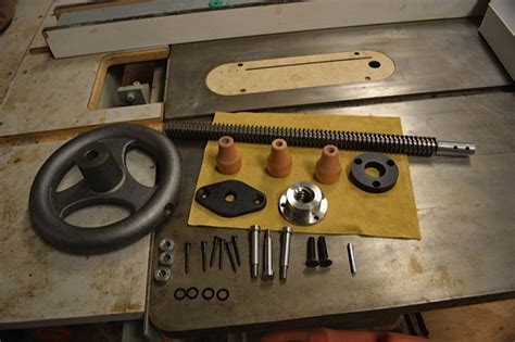 installing   benchcrafted leg vise part