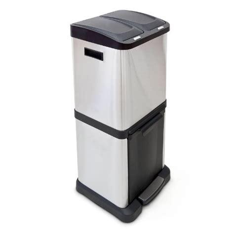 poubelle cuisine pas cher poubelle tri selectif 2 bacs pas cher