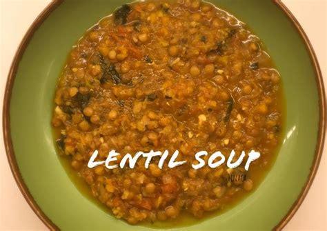 Aneka resep es sop buah dan cara membuat yang mudah ini bisa anda praktikan di rumah. Resep Sop Lentil : Lentil Soup Recipe Allrecipes ...