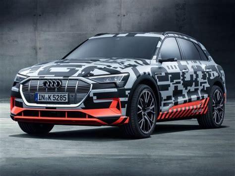Audi Unveils E-tron Electric Prototype At Geneva Motor