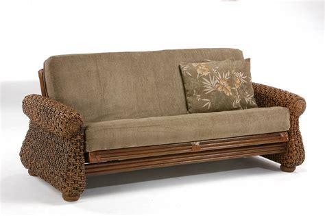 futon bed frames iris rattan futon frame by day furniture