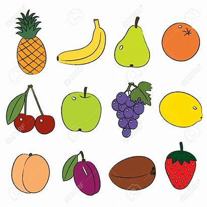 Fruits Fruit Clipart Clip Different Fall Local