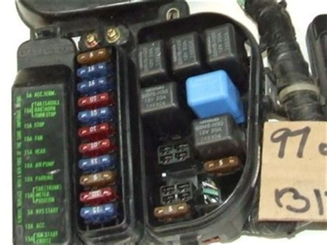 Honda 2000 Fuse Box Display by Fuse Box Covers Removal Gl1500 Information Questions